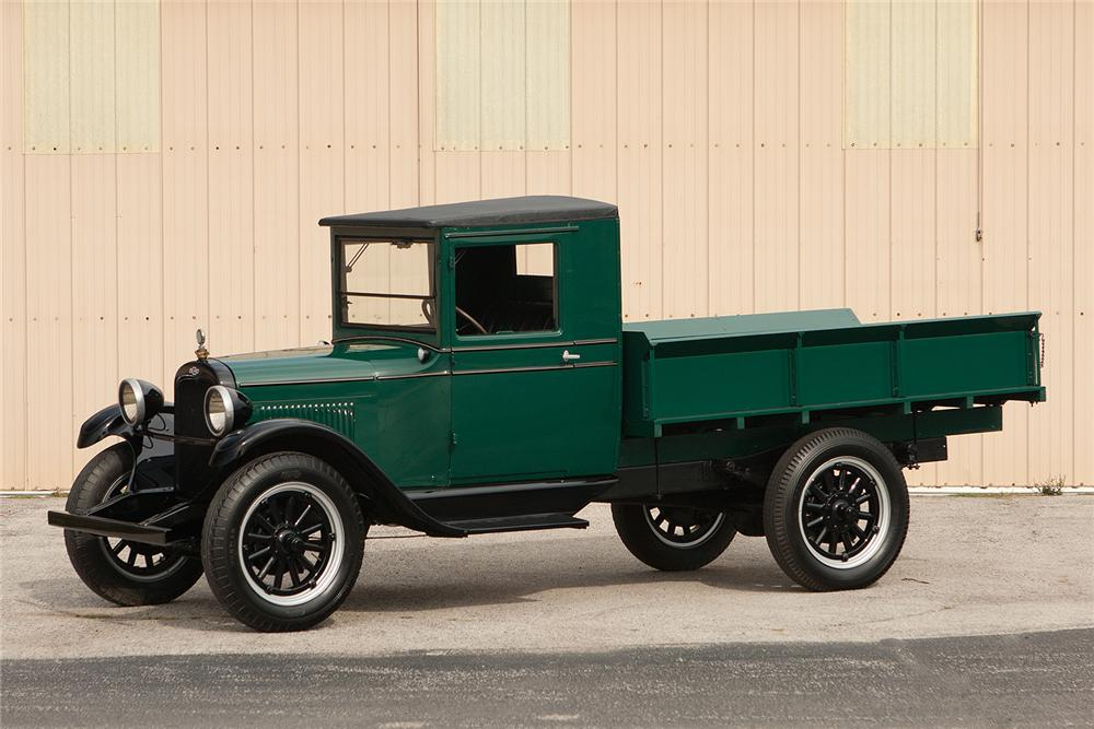 1928 CHEVROLET PICKUP - Side Profile - 161550