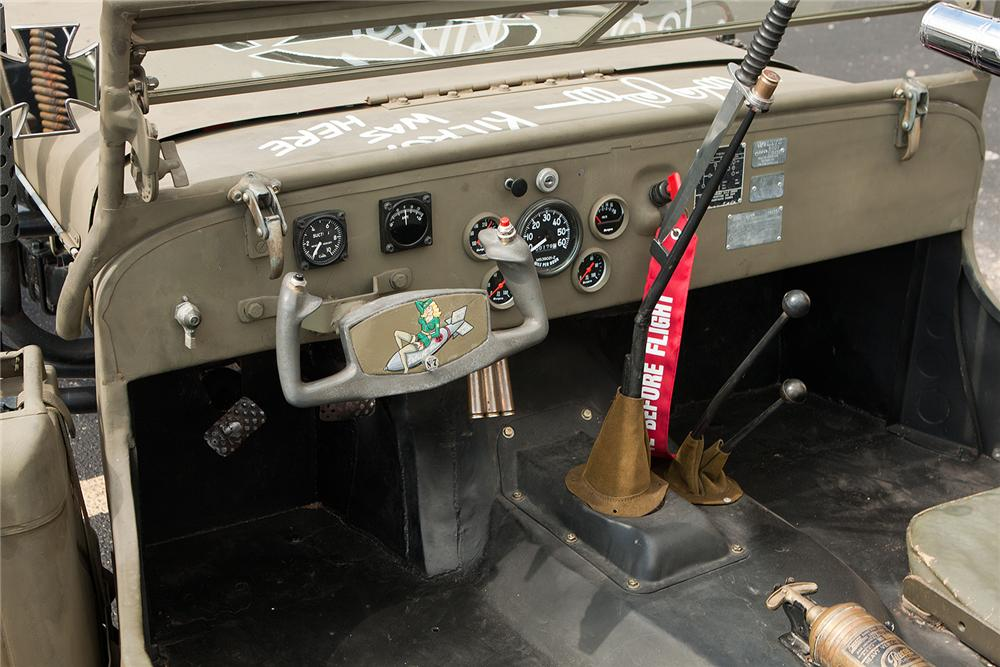 1949 WILLYS JEEP CUSTOM - Interior - 161551