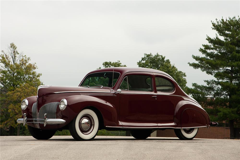 1940 LINCOLN ZEPHYR CLUB COUPE - 161552