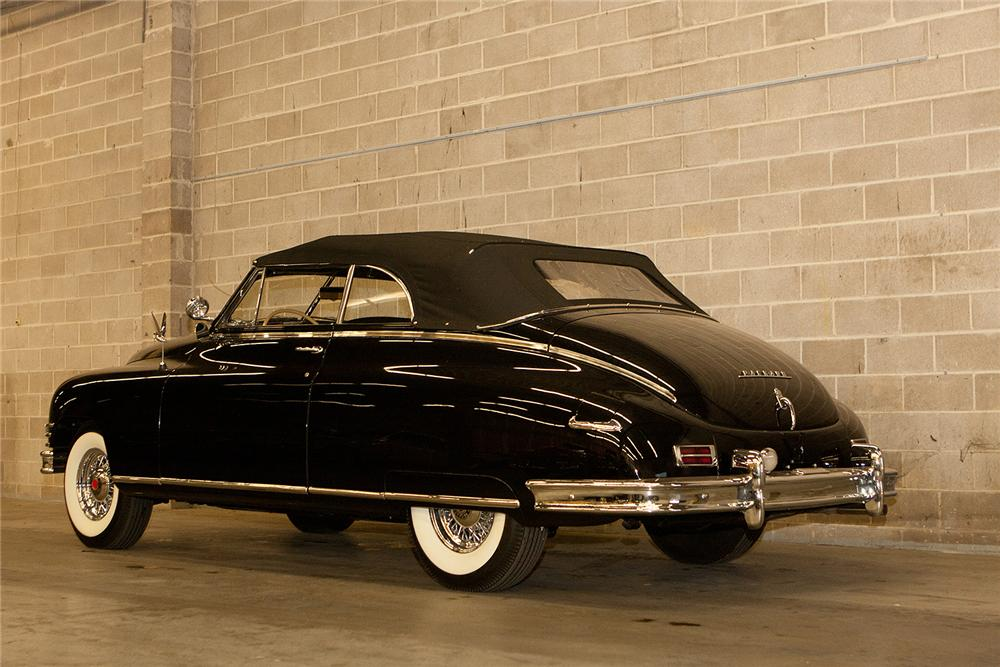1948 PACKARD SUPER 8 CONVERTIBLE - Rear 3/4 - 161555