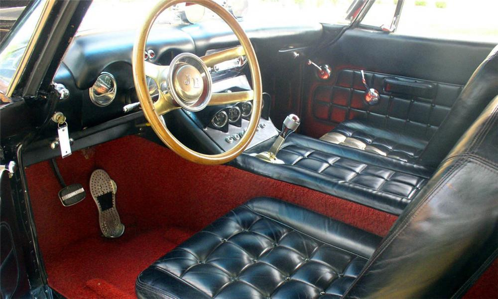 1953 BONAGURO SPECIAL CUSTOM COUPE - Interior - 16156