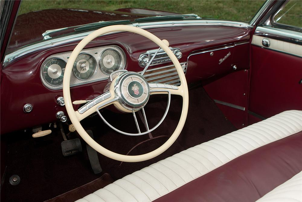 1953 PACKARD CARIBBEAN CONVERTIBLE - Interior - 161560