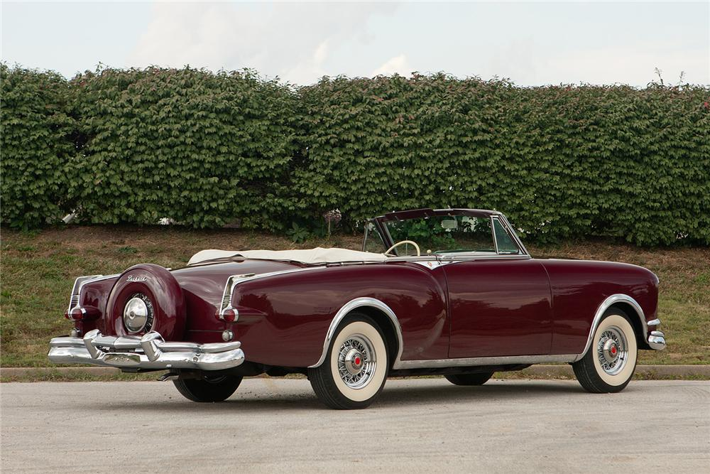 1953 PACKARD CARIBBEAN CONVERTIBLE - Rear 3/4 - 161560