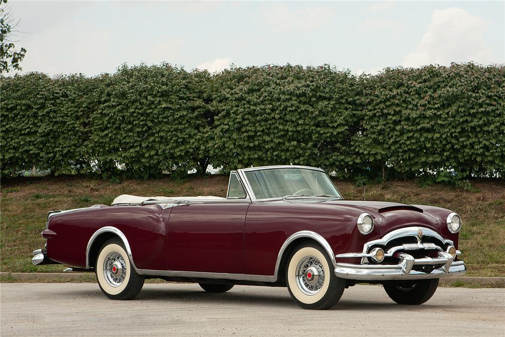 1953 PACKARD CARIBBEAN CONVERTIBLE - Side Profile - 161560