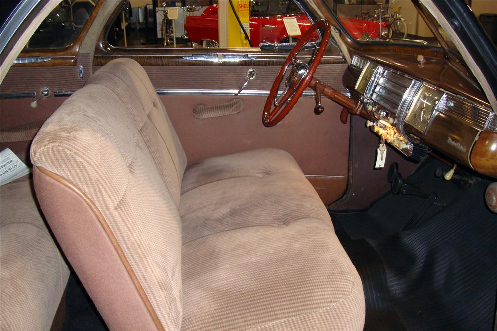 1942 DODGE CLUB COUPE 2 DOOR COUPE - Interior - 161564