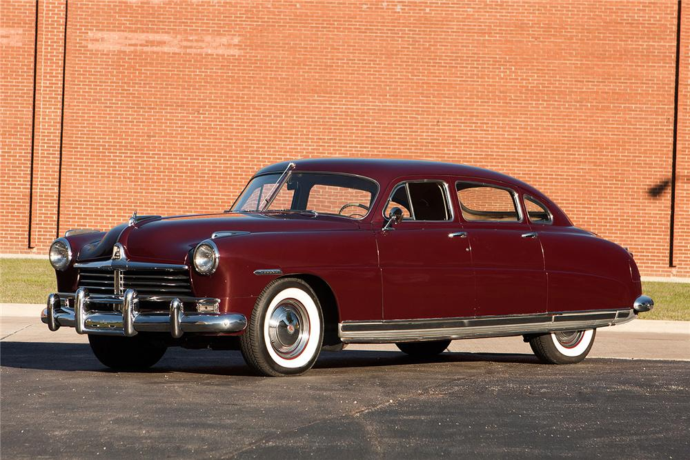 ... 1949 HUDSON COMMODORE 8 4 DOOR SEDAN   Front 3/4   161565 ...
