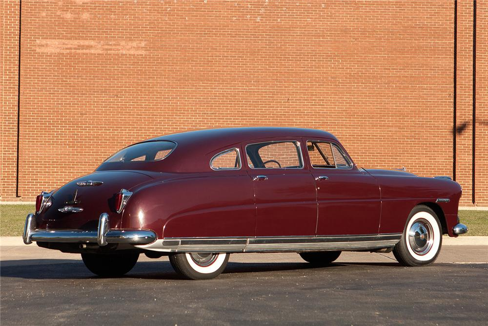 1949 HUDSON COMMODORE 8 4 DOOR SEDAN - Rear 3/4 - 161565