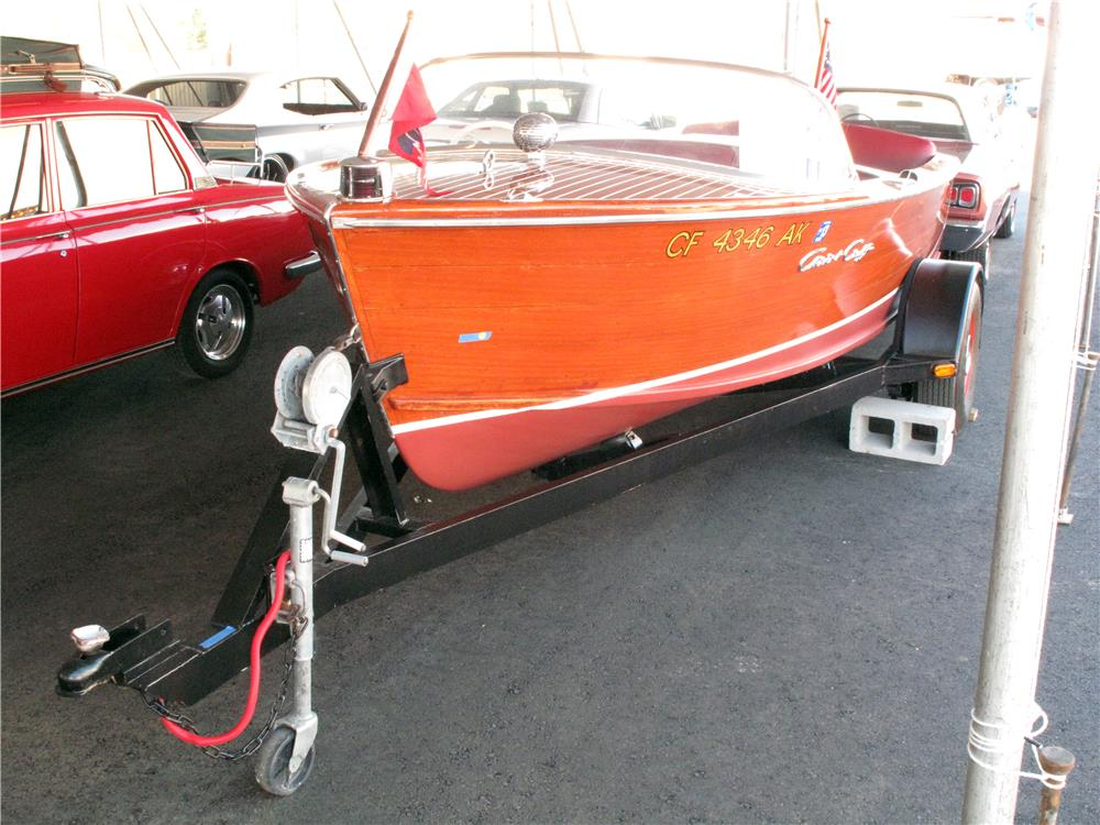 2000 SPECIAL CONSTRUCTION BOAT TRAILER - Front 3/4 - 161569