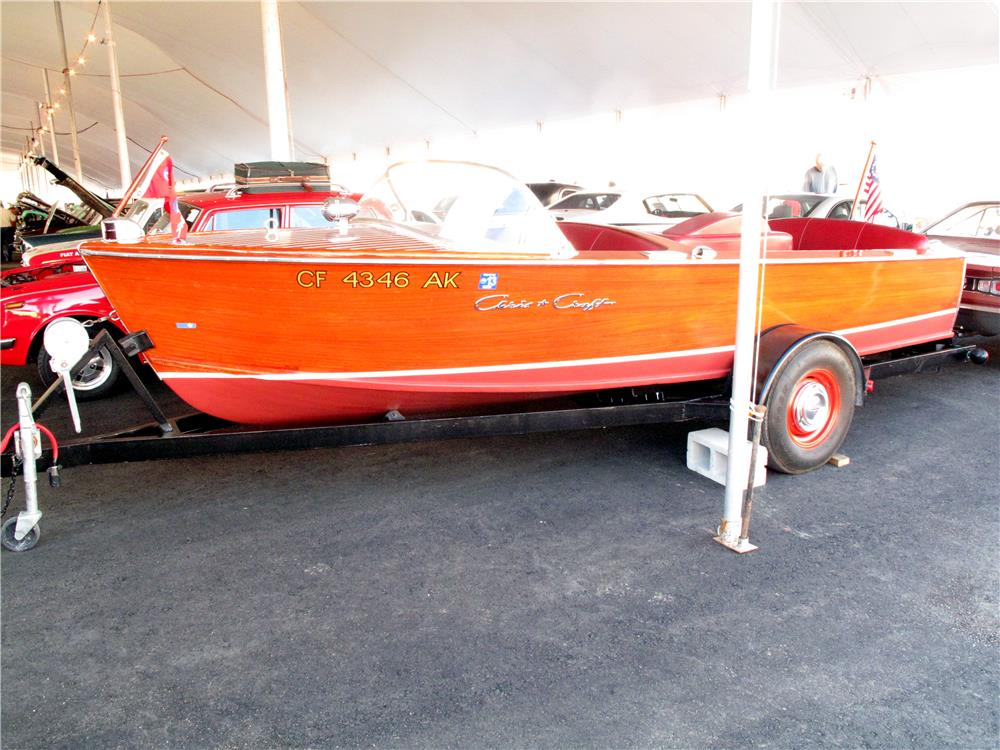 2000 SPECIAL CONSTRUCTION BOAT TRAILER - Side Profile - 161569