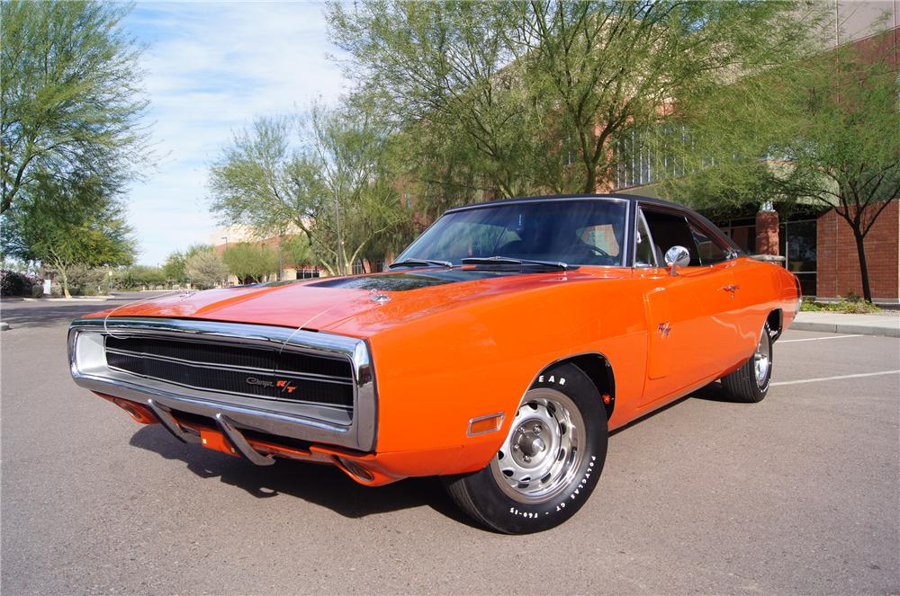 1970 DODGE CHARGER R/T 2 DOOR HARDTOP - Front 3/4 - 161570
