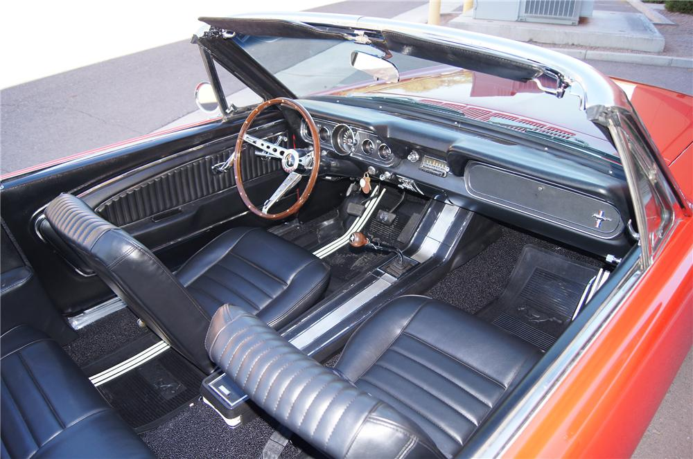 "1966 FORD MUSTANG GT ""K"" CONVERTIBLE - Interior - 161571"
