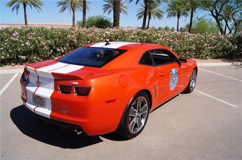 2010 CHEVROLET CAMARO PACE CAR COUPE - Rear 3/4 - 161574