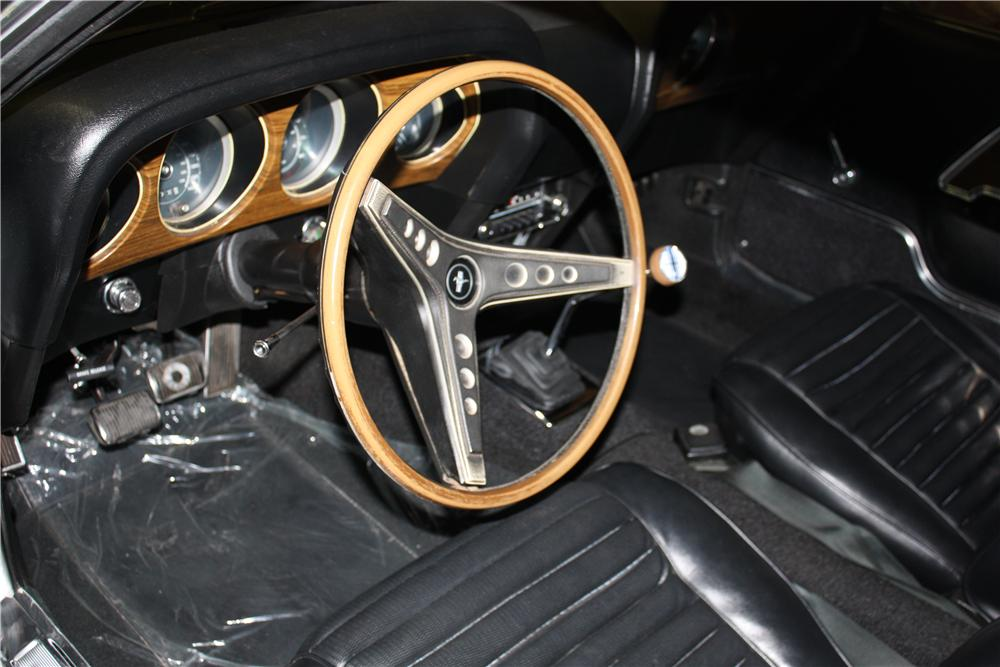 1969 FORD MUSTANG MACH 1 428 CJ FASTBACK - Interior - 161579