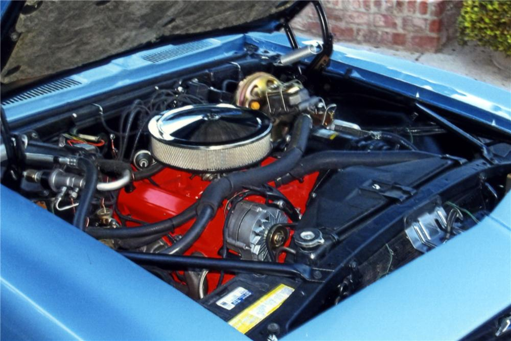 1969 CHEVROLET CAMARO 2 DOOR COUPE - Engine - 161584