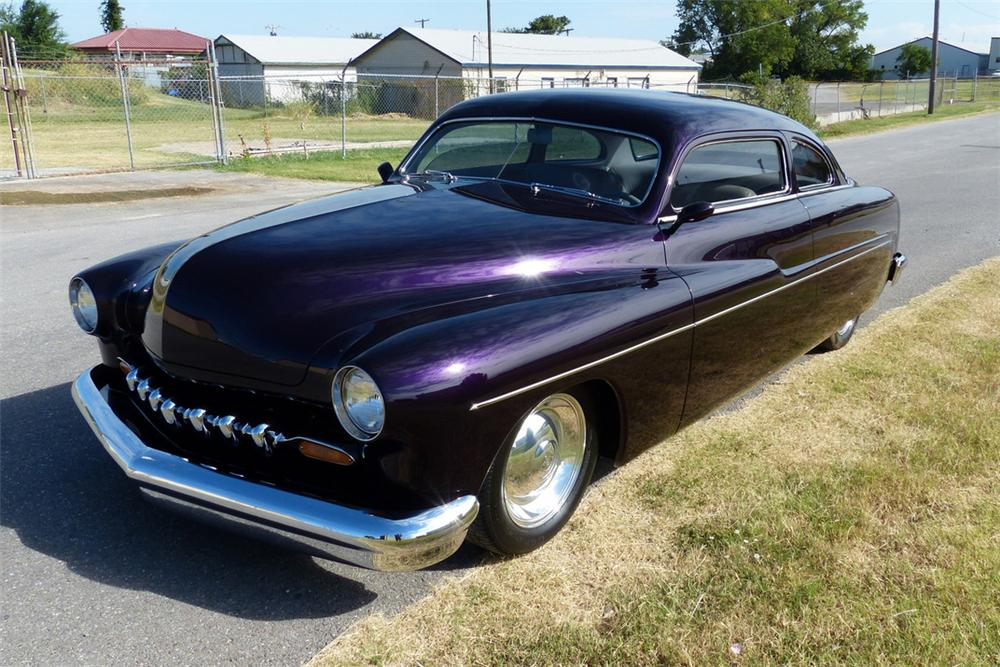 1951 mercury custom 2 door coupe 161586