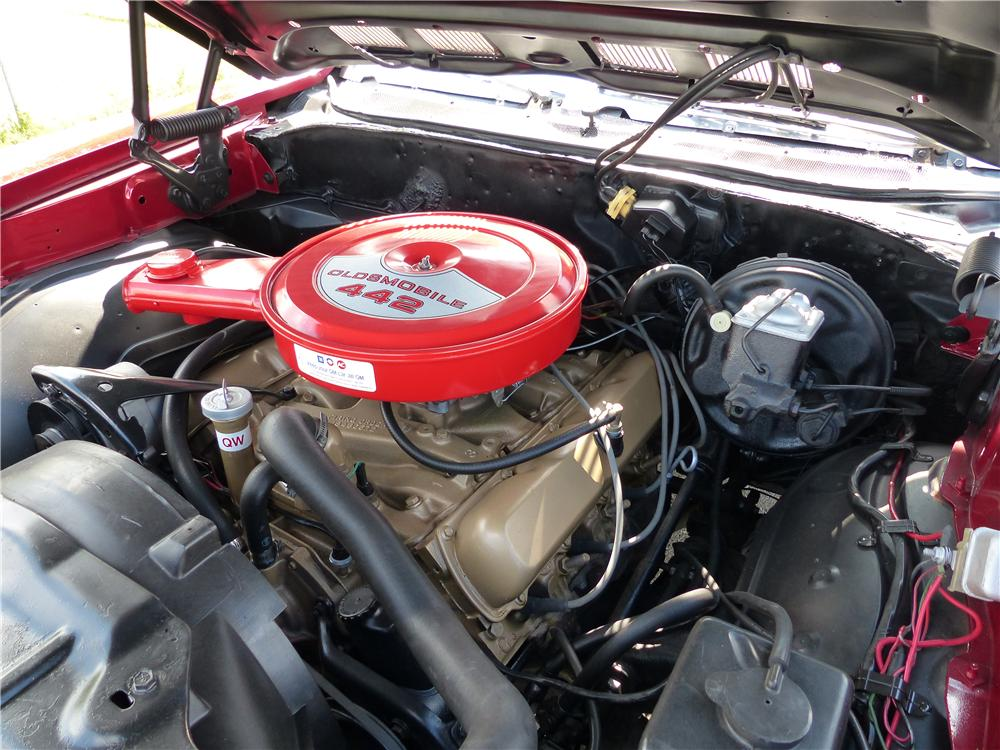 1969 OLDSMOBILE 442 CONVERTIBLE - Engine - 161587
