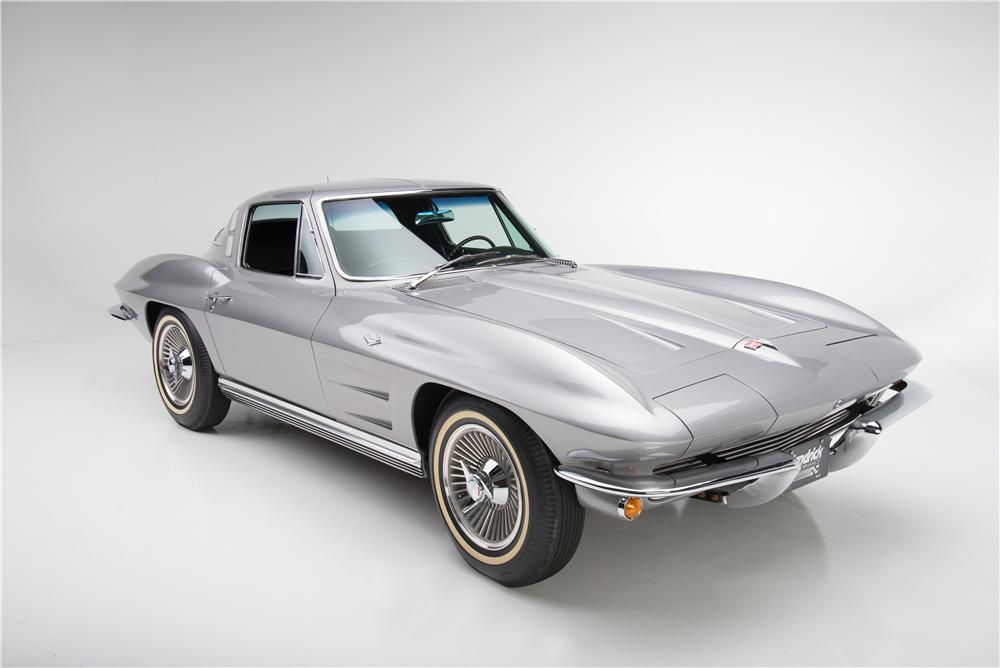 1964 CHEVROLET CORVETTE 2 DOOR COUPE - Front 3/4 - 161590