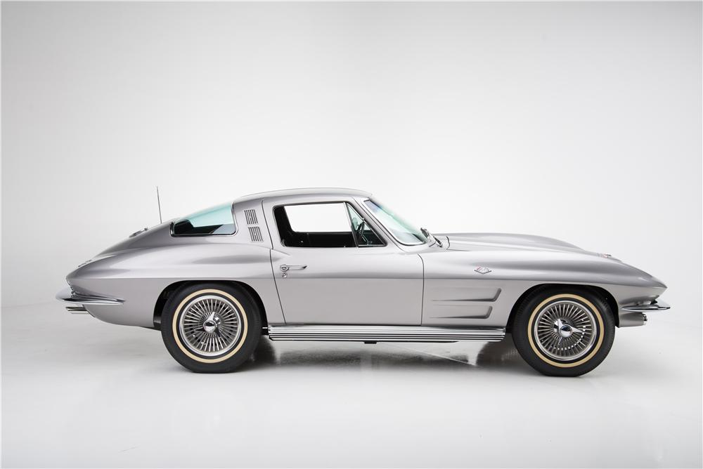 1964 CHEVROLET CORVETTE 2 DOOR COUPE - Side Profile - 161590
