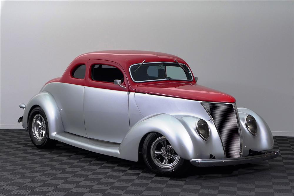 1937 ford 5 window custom 2 door coupe 161593 for 1937 ford two door sedan