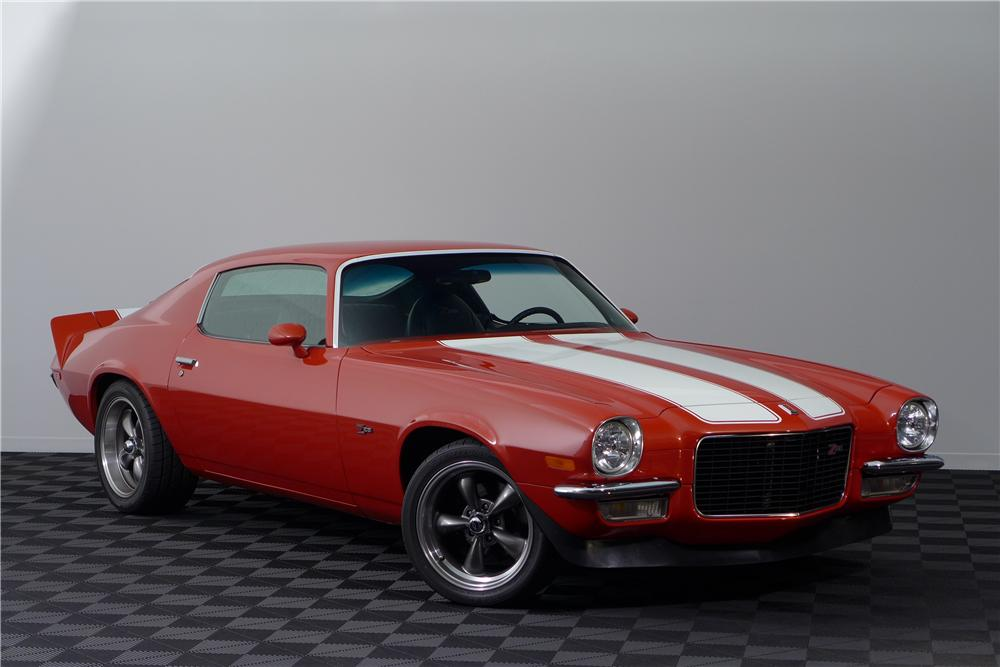 1972 CHEVROLET CAMARO Z/28 CUSTOM 2 DOOR COUPE - Front 3/4 - 161596