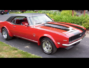 1968 CHEVROLET CAMARO RS/SS CUSTOM COUPE -  - 16160
