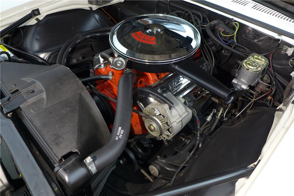 1967 CHEVROLET CAMARO INDY PACE CAR CONVERTIBLE - Engine - 161600