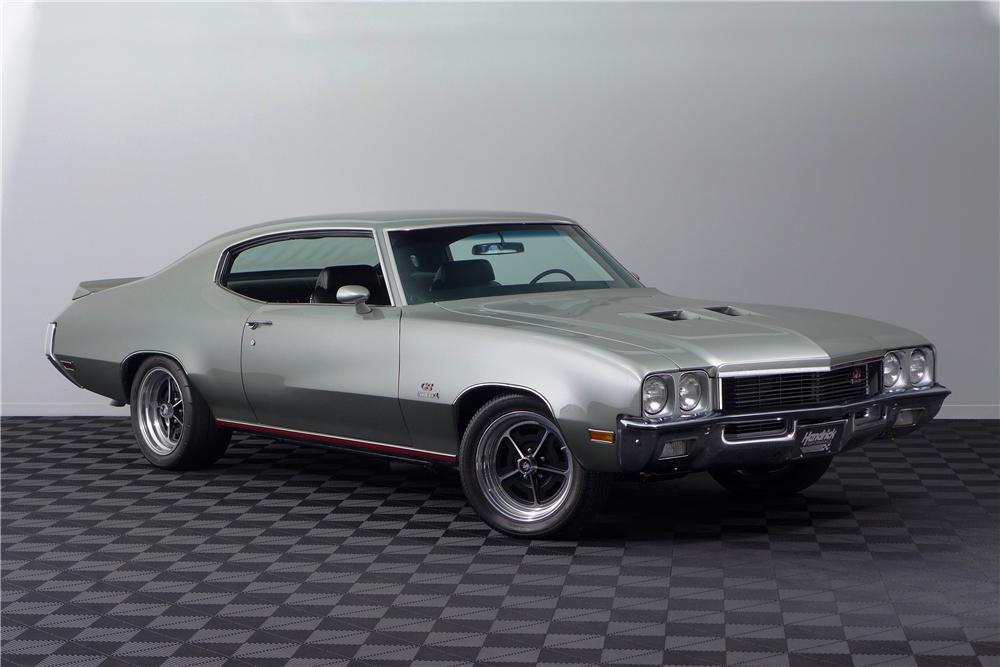 1972 BUICK GS 455 STAGE 1 CUSTOM 2 DOOR COUPE - Front 3/4 - 161601