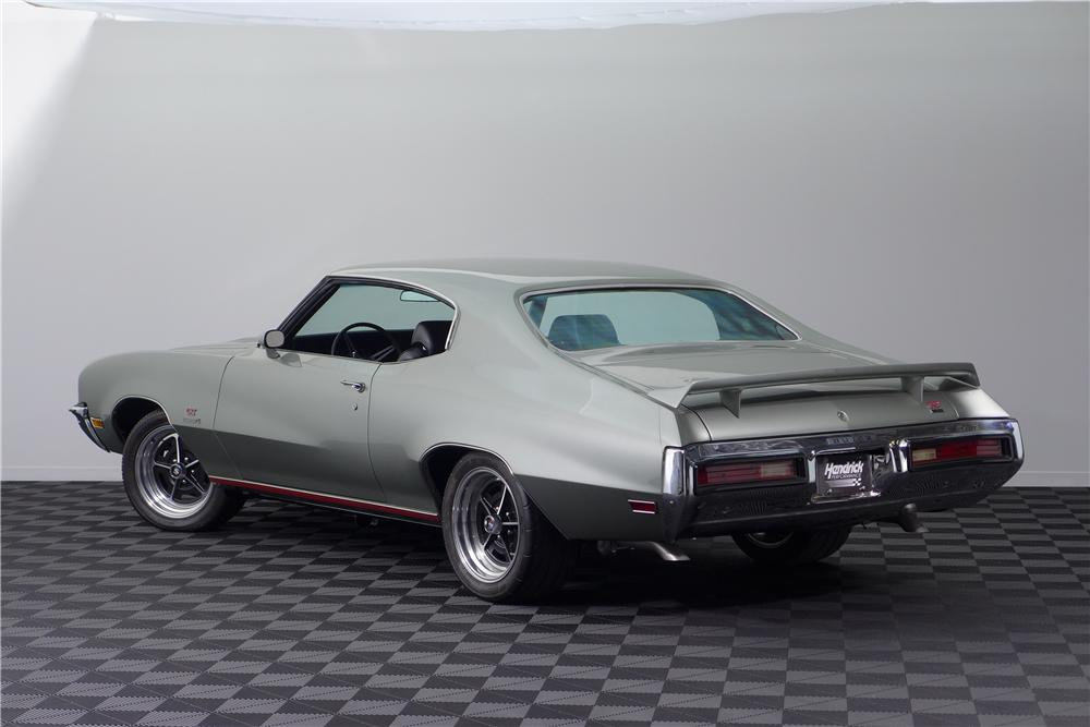 1972 BUICK GS 455 STAGE 1 CUSTOM 2 DOOR COUPE - 161601