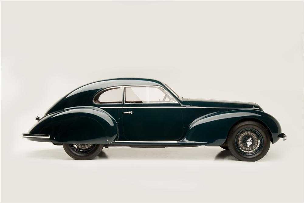 1939 ALFA ROMEO 6C 2500 SPORT TOURING - Side Profile - 161602