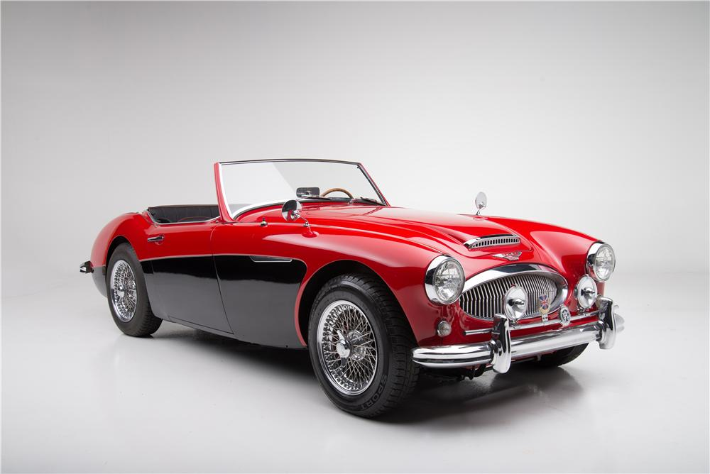 1962 AUSTIN-HEALEY 3000 MARK II BT7 ROADSTER - Front 3/4 - 161605