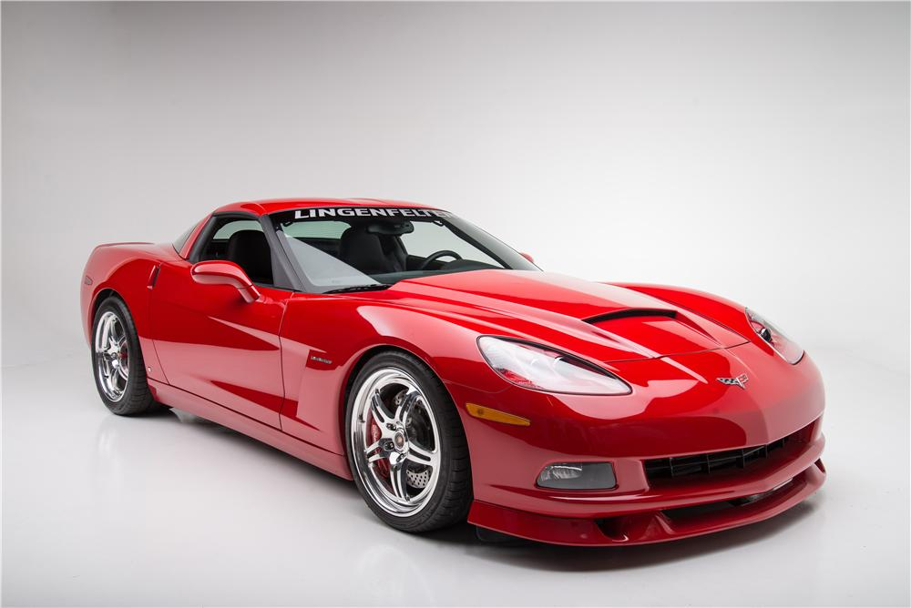 2008 CHEVROLET CORVETTE CUSTOM 2 DOOR COUPE - Front 3/4 - 161612