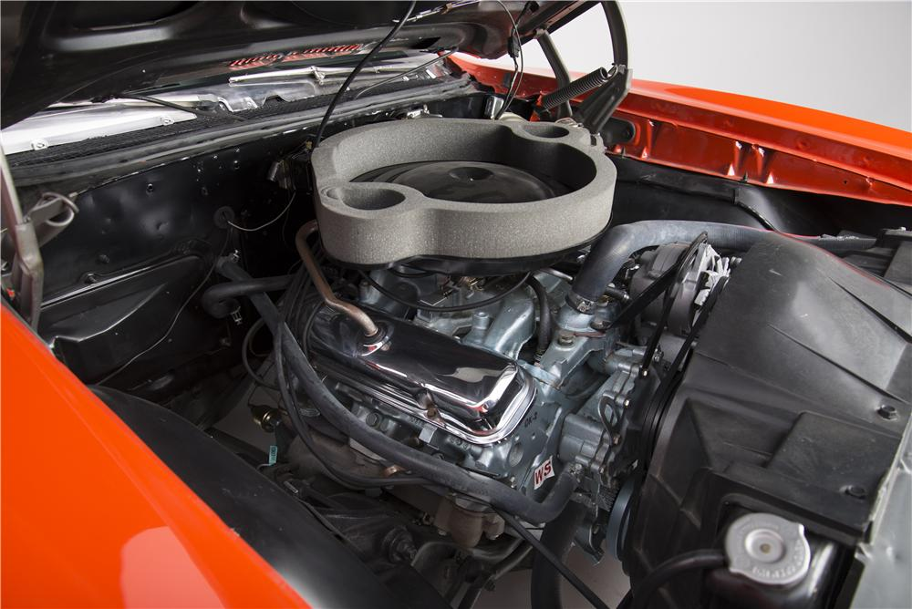 1969 PONTIAC GTO JUDGE RAM AIR III - Engine - 161615