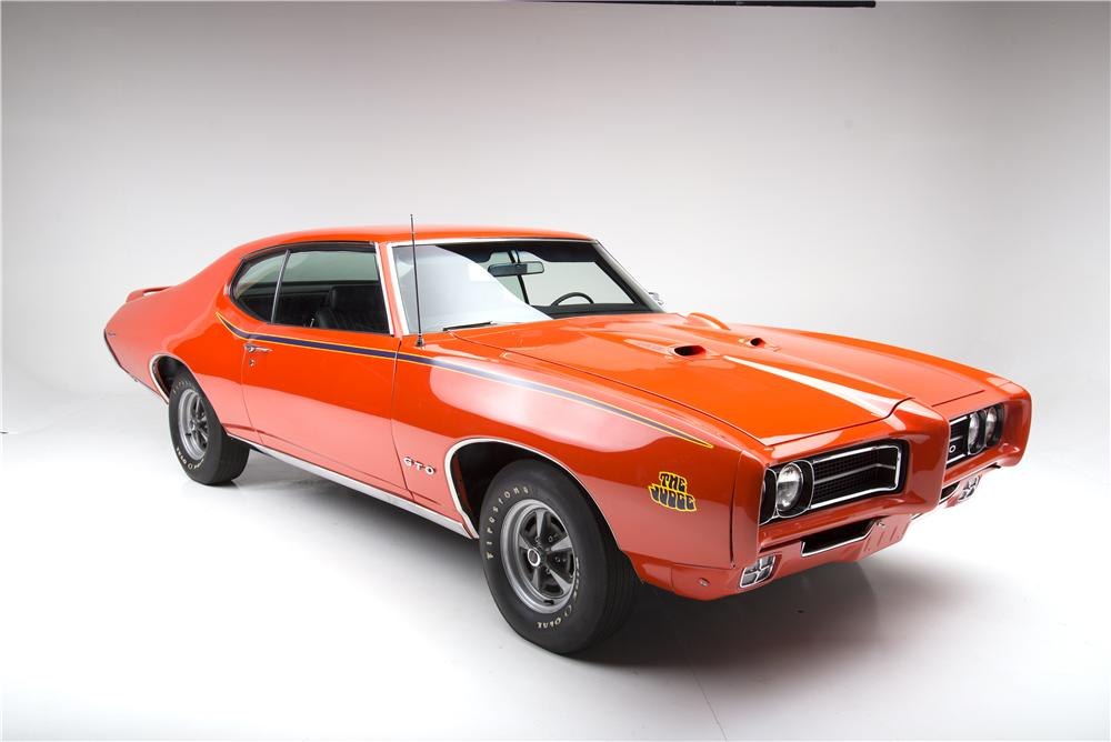 1969 PONTIAC GTO JUDGE RAM AIR III - Front 3/4 - 161615