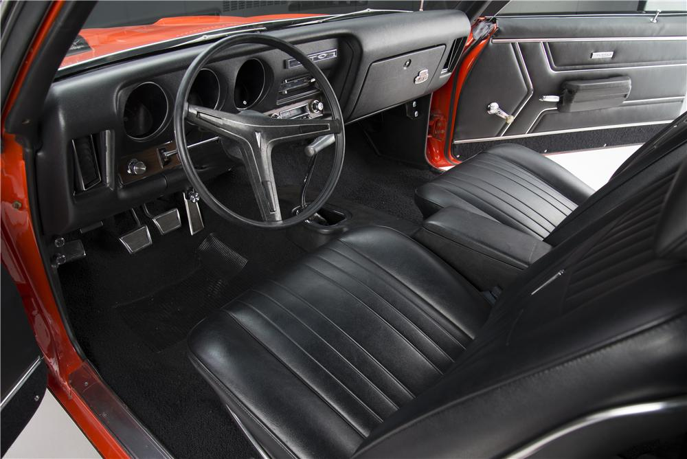 1969 PONTIAC GTO JUDGE RAM AIR III - Interior - 161615