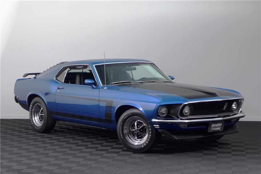 1969 Ford Mustang Boss 302 Fastback 161617