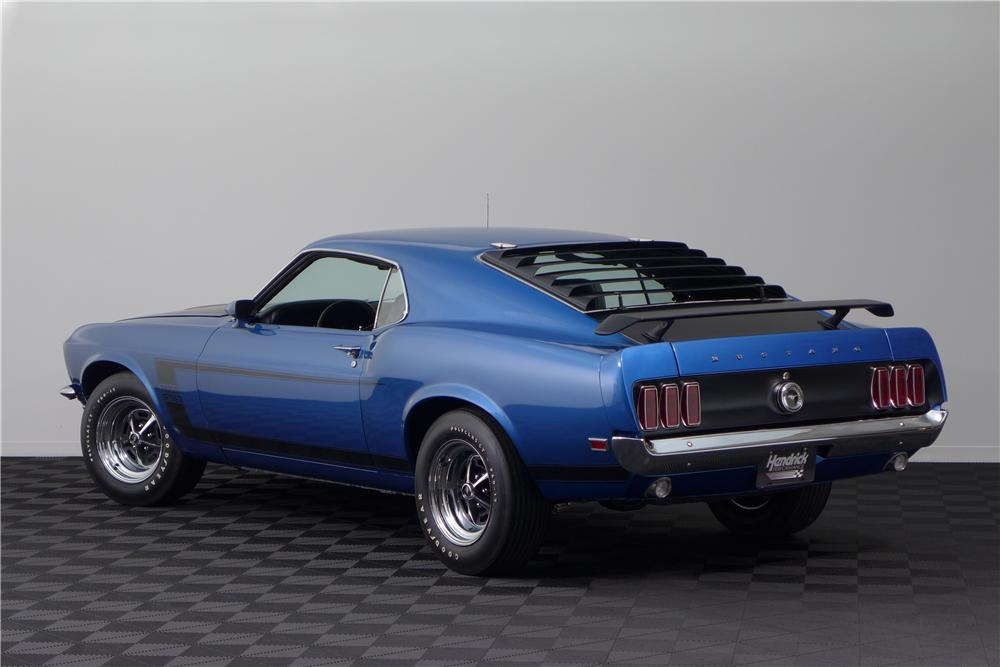 1969 FORD MUSTANG BOSS 302 FASTBACK - Rear 3/4 - 161617