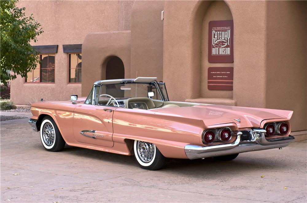 1959 Ford Thunderbird Custom Convertible 161624