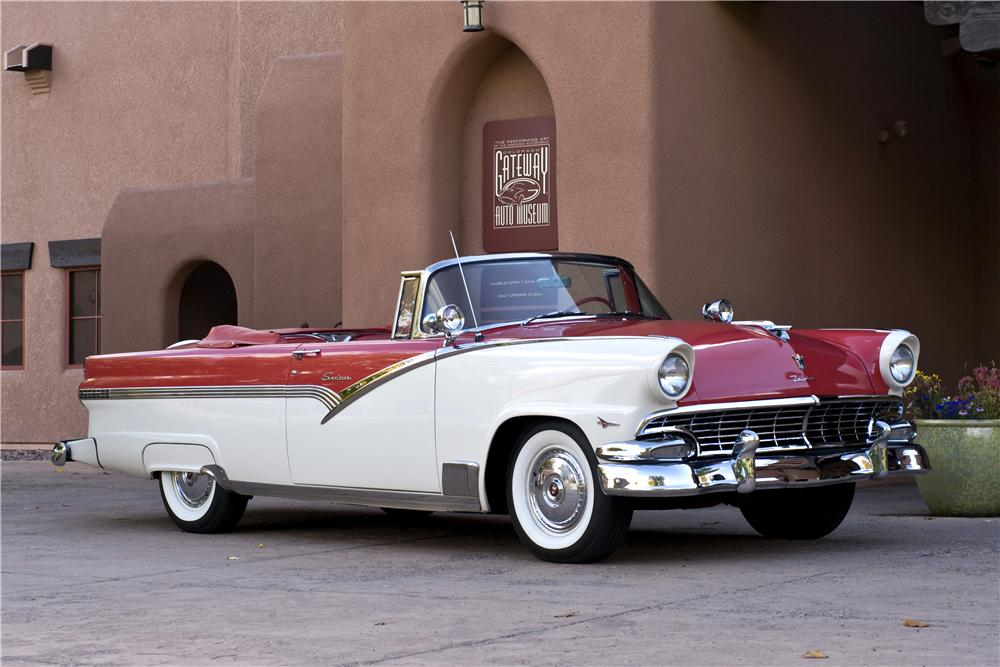 4 Door Convertible >> 1956 FORD FAIRLANE SUNLINER CONVERTIBLE