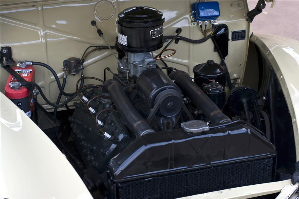 1939 MERCURY 99A CONVERTIBLE - Engine - 161626