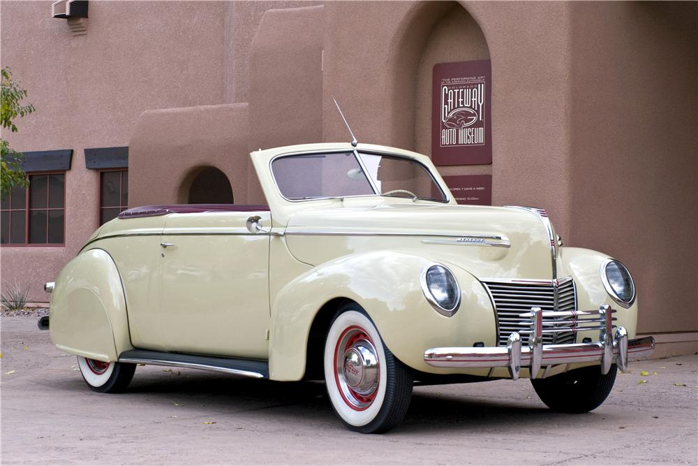 1939 MERCURY 99A CONVERTIBLE - Front 3/4 - 161626