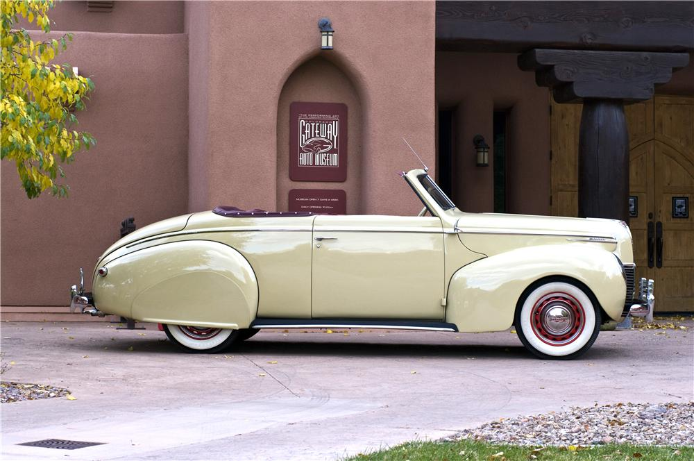 1939 MERCURY 99A CONVERTIBLE - Side Profile - 161626