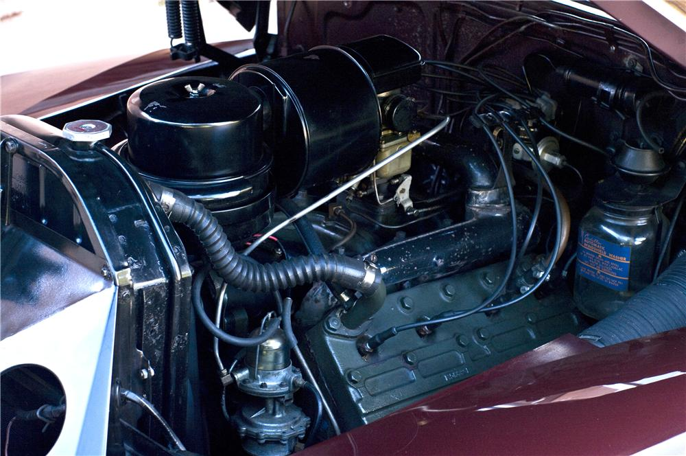 1947 CADILLAC SERIES 62 CONVERTIBLE - Engine - 161629