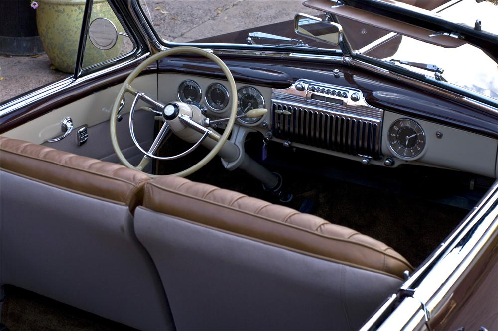 1947 CADILLAC SERIES 62 CONVERTIBLE - Interior - 161629
