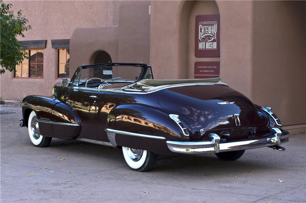 1947 CADILLAC SERIES 62 CONVERTIBLE - Rear 3/4 - 161629