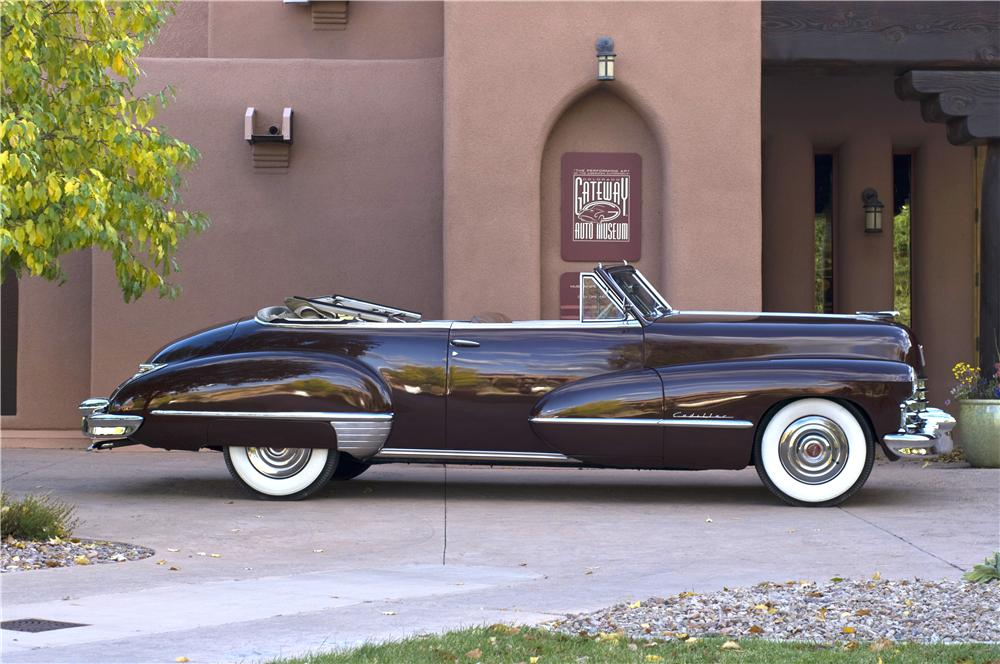 1947 CADILLAC SERIES 62 CONVERTIBLE - Side Profile - 161629