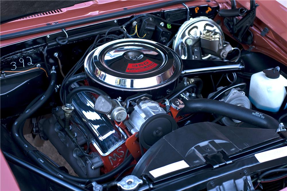 1968 CHEVROLET CAMARO RS/SS CONVERTIBLE - Engine - 161632