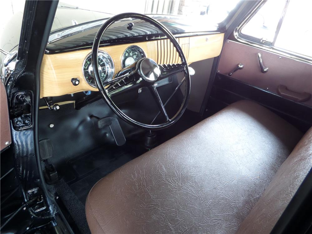 1954 CHEVROLET 3100 CUSTOM PICKUP - Interior - 161638