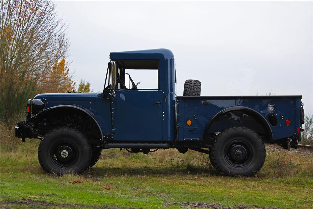 1962 DODGE POWER WAGON M37B1 PICKUP - Side Profile - 161646