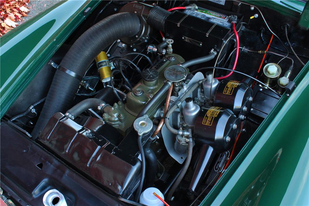1967 AUSTIN-HEALEY SPRITE MK IV ROADSTER - Engine - 161651