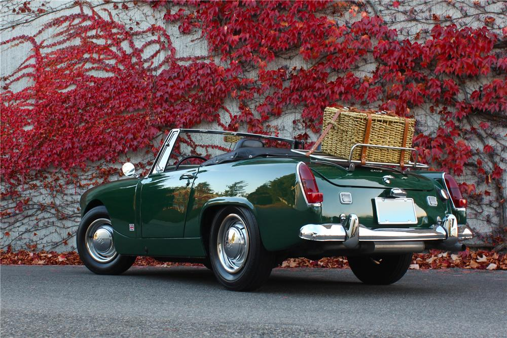 1967 AUSTIN-HEALEY SPRITE MK IV ROADSTER - Rear 3/4 - 161651